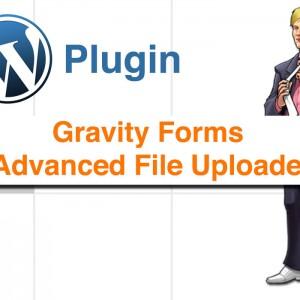 Gravity Forms Advanced File Uploader